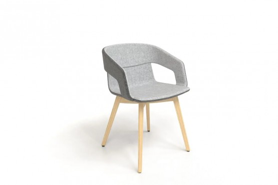 Natural Office Lounge Chair
